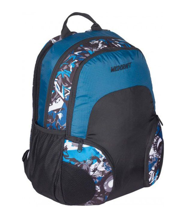 Wildcraft Bounce HipHop Blue Backpack