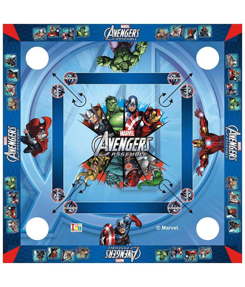 Disney Marvel Avengers Carrom Board - Big