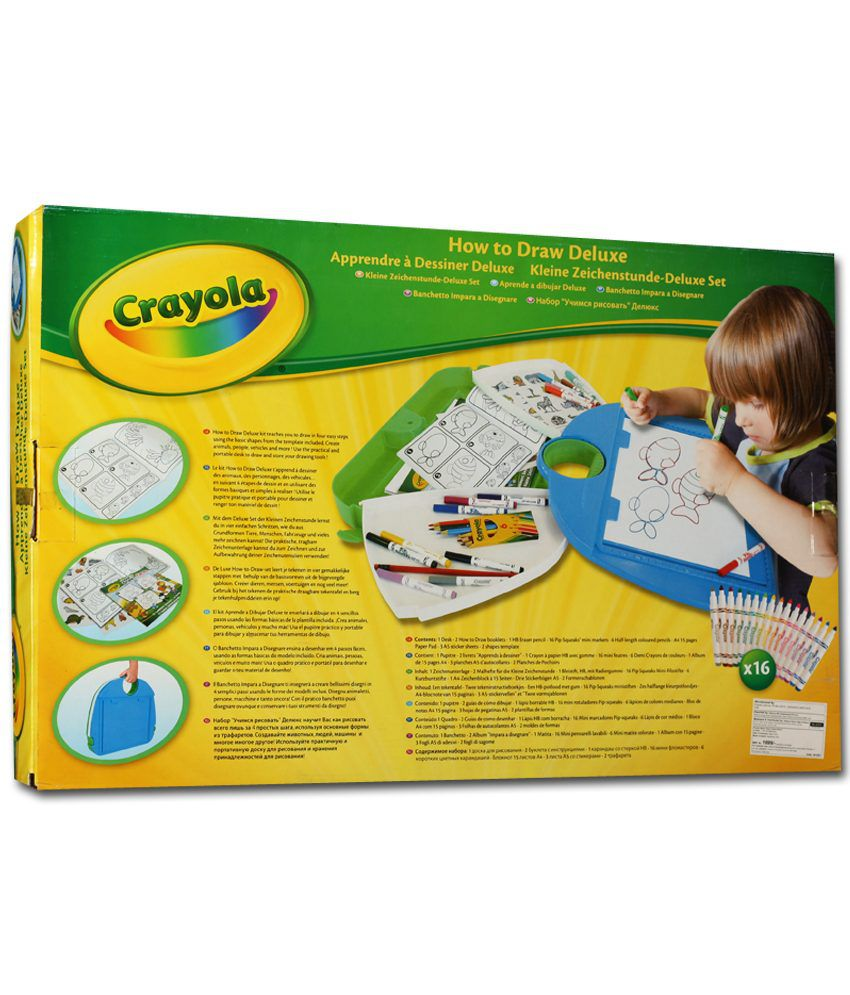Worksheet Crayola Draw Online crayola how to draw deluxe set buy online at best price in india set