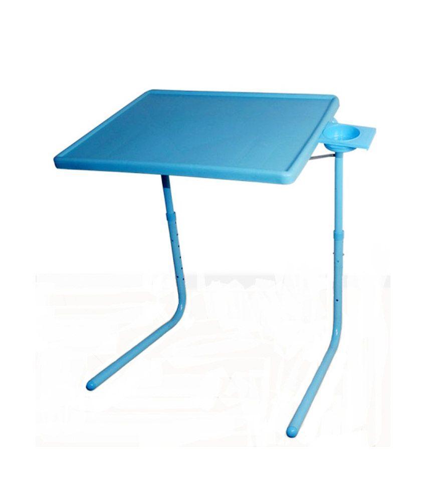 Skyshopproducts Blue Table Mate Ii 2- Folding Portable Adjustable