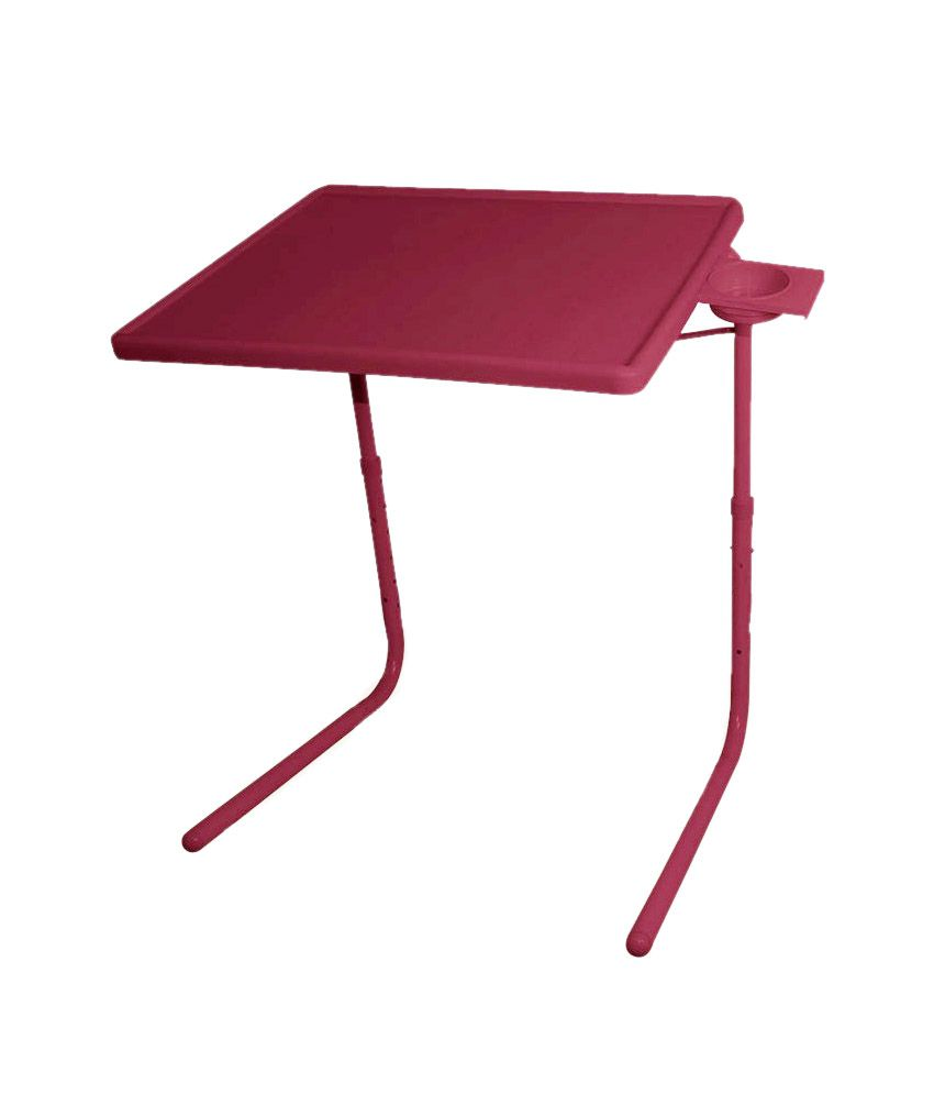 Skyshopproducts Brown Table Mate Ii 2- Folding Portable Adjustable