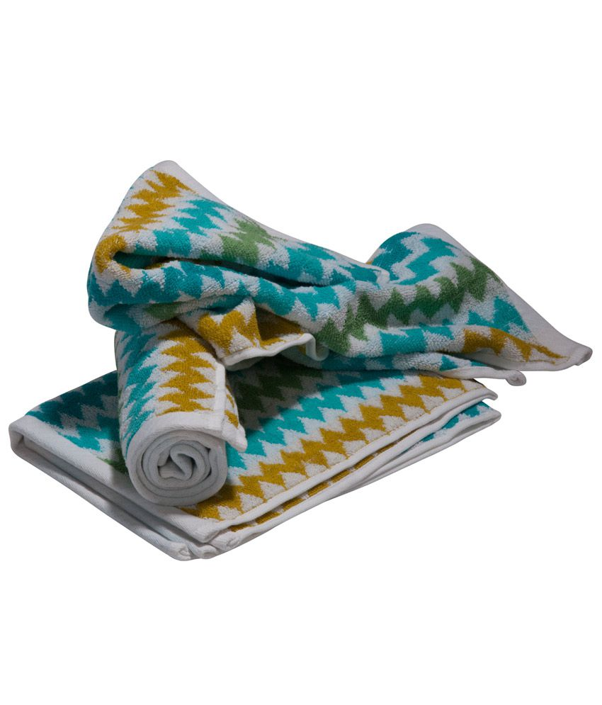 Aransa Cotton Hand Towel Set Best Price In India On 25th