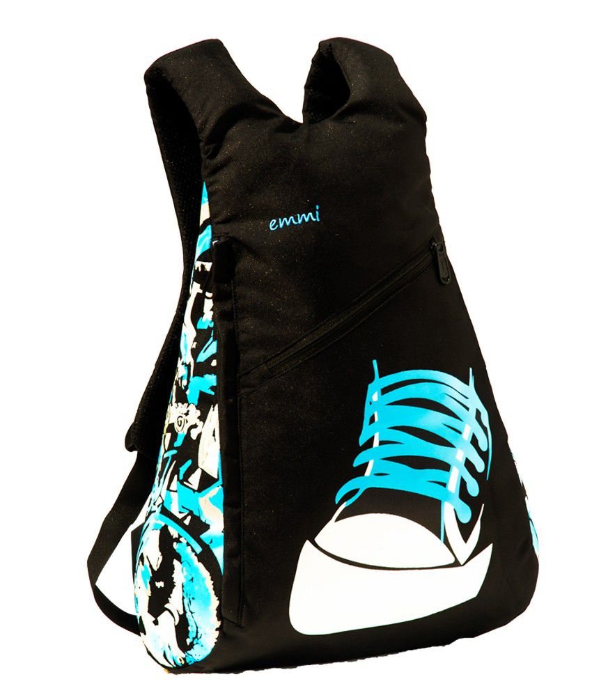School bags for youth - Emmi Designer Bags Youth Backpack Blue
