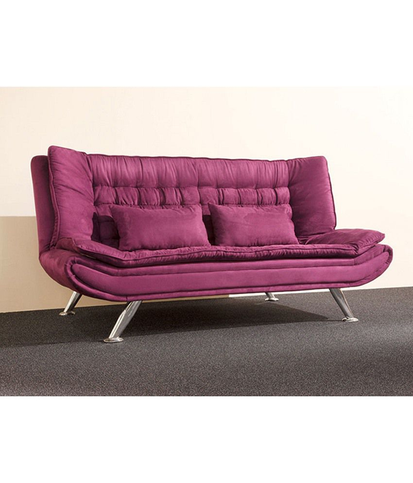 Metro Sofa Bed Purple