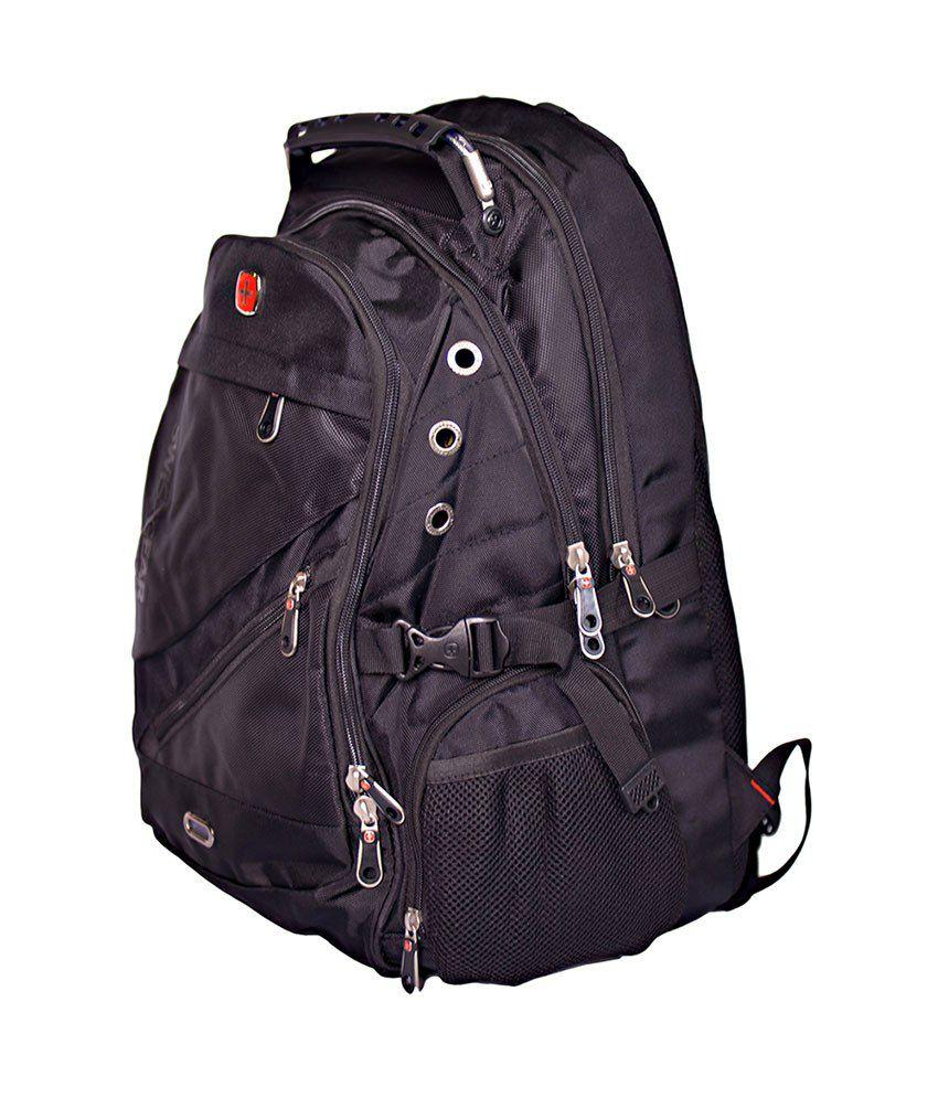 Swissgear Black Backpack - Sa-1418 - Buy Swissgear Black Backpack ...