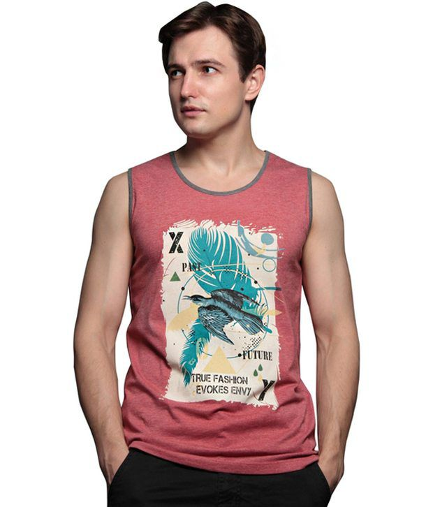 Xny Pink Cotton Blend T-shirt