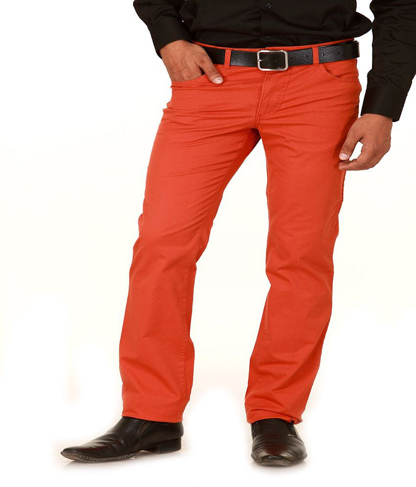 Givo Red Slim Casuals Flat