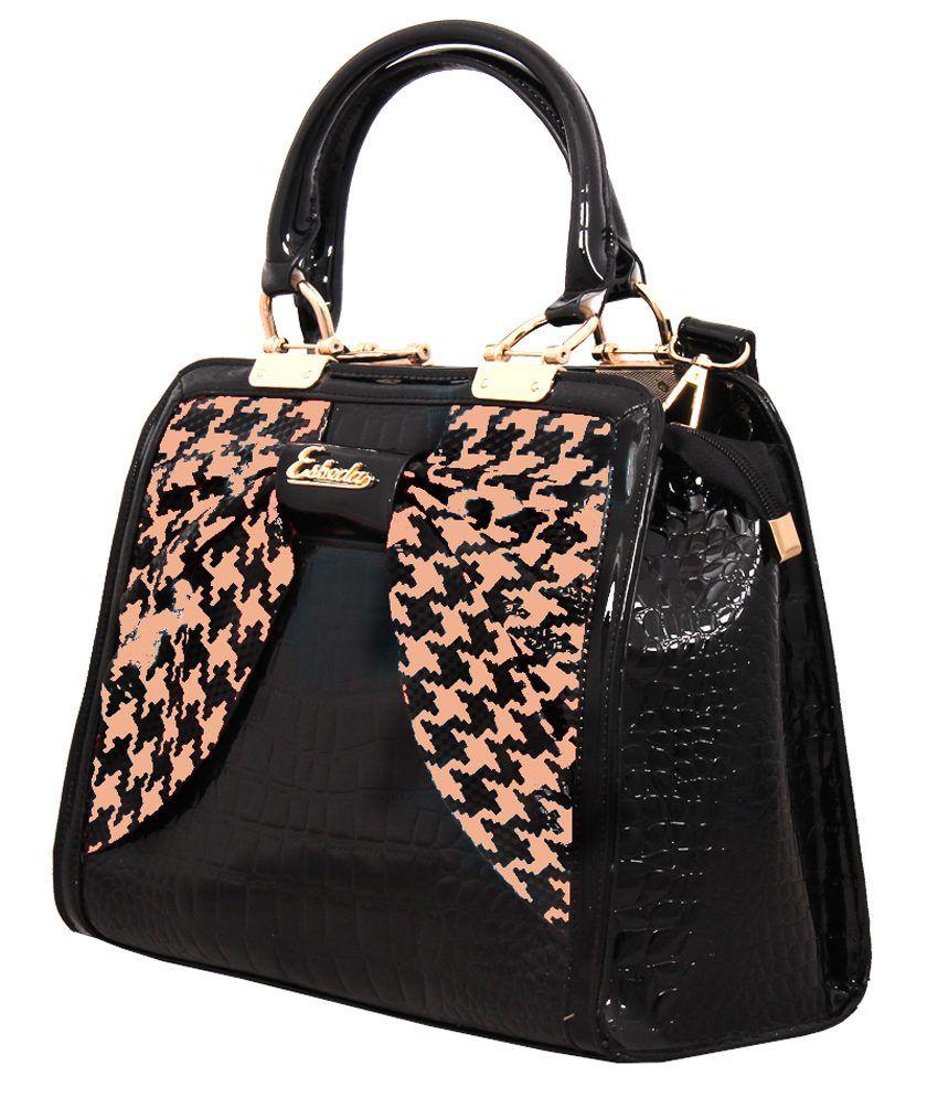 cfab179ee5c Esbeda ESB6109PINK Black Shoulder Bags Esbeda ESB6109PINK Black Shoulder  Bags ...
