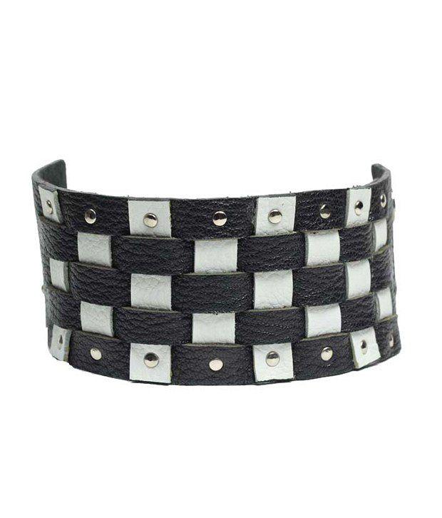 Fume Black Casual Hit Designer Unisex Bracelets