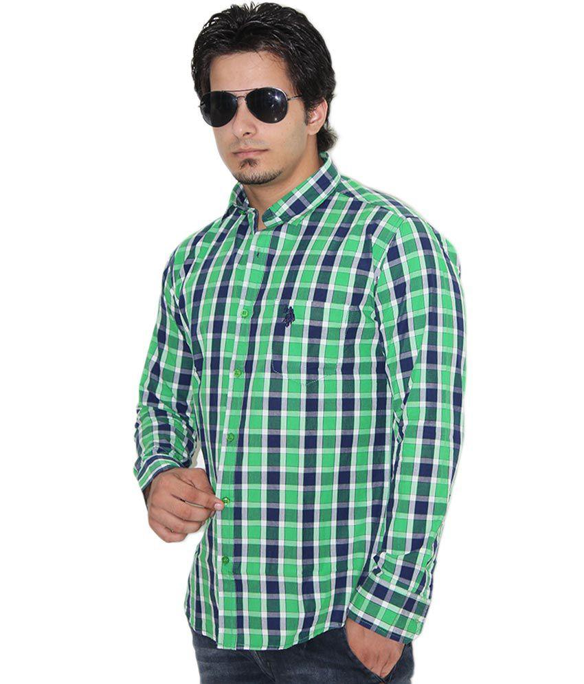 Us Polo Assn Men 39 S Checkered Casual Shirt Buy Us Polo
