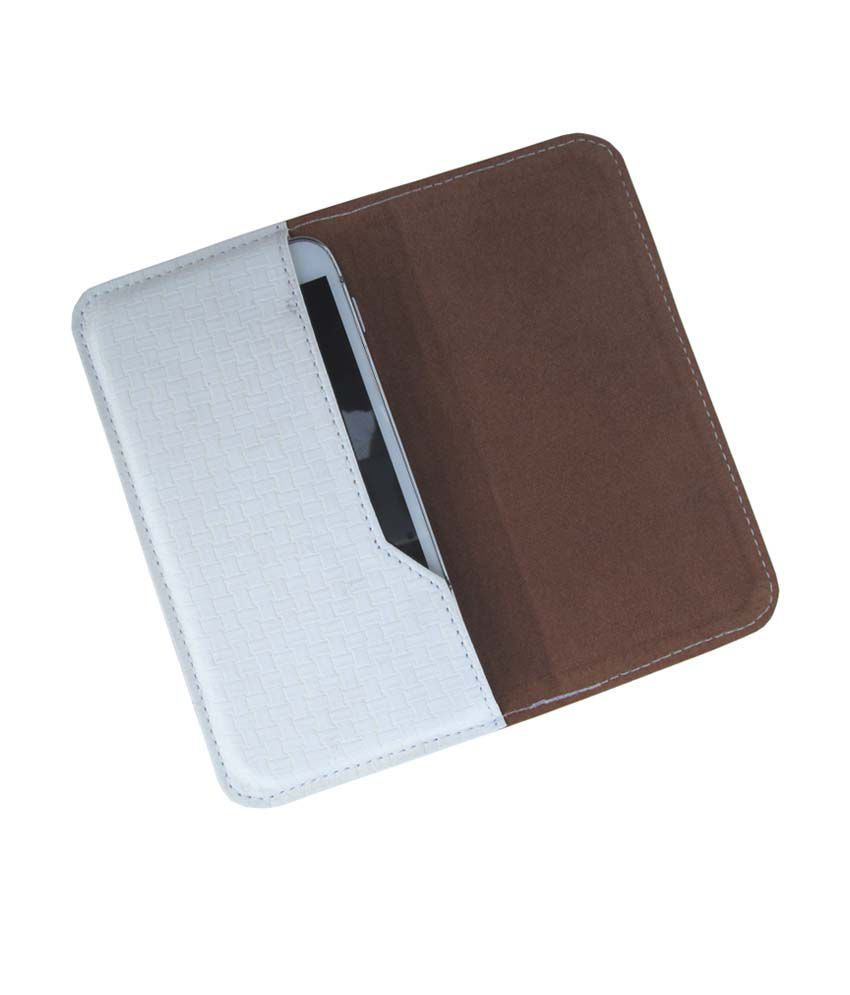 Ikitpit Pu Leather Flip Pouch Case Cover For Htc Desire 200