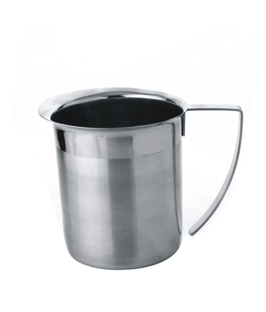 montstar stainless steel milk jug beverage jug with. Black Bedroom Furniture Sets. Home Design Ideas