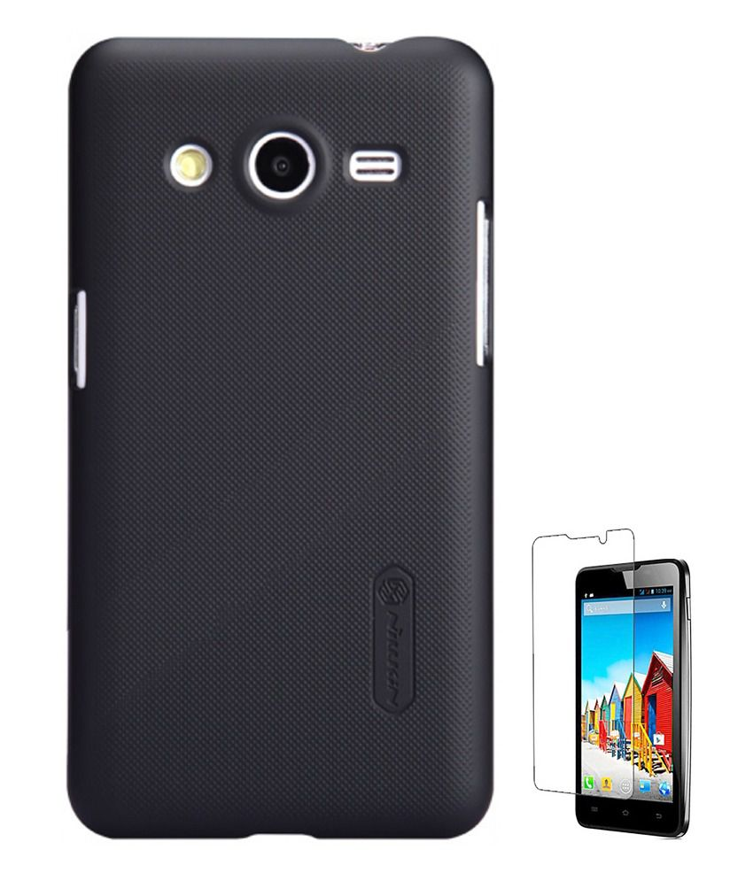 quite nice 140ae 6a432 Nillkin Samsung Galaxy Core 2 SM-G355H Ultrathin frosted Series Back Cover  Case black