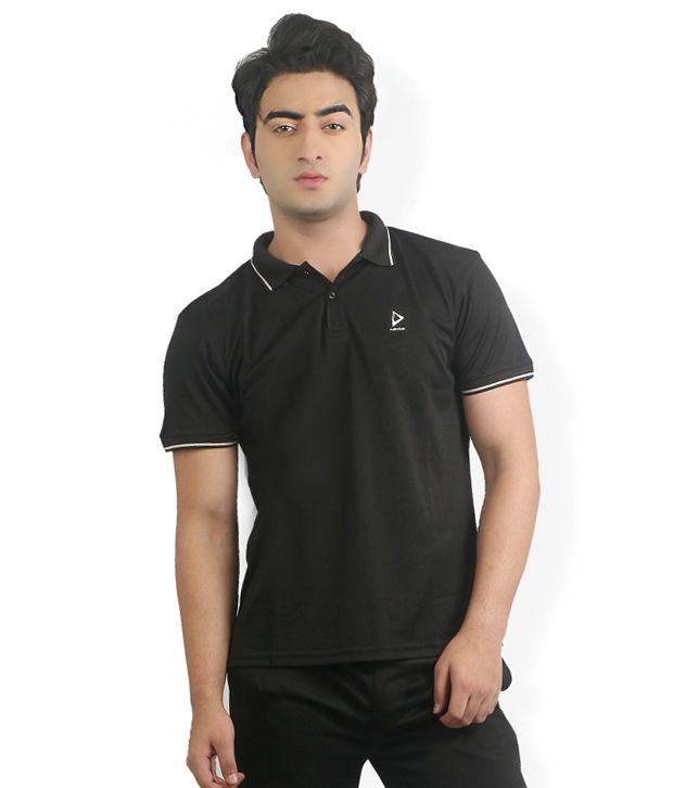 Nitrite Black  Polo T-Shirt