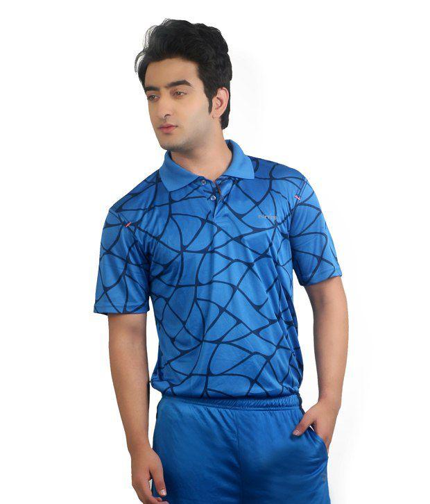 Nitrite Blue  Polo T-Shirt