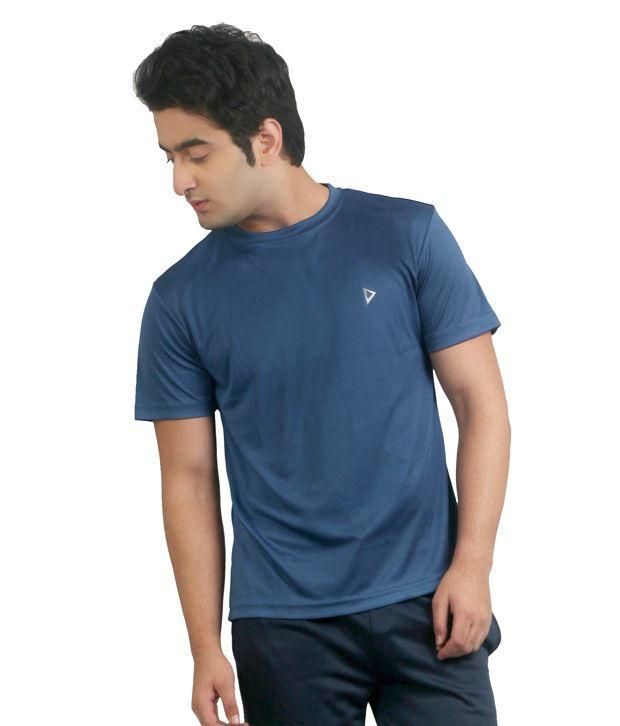 Nitrite Gray Polyester  T-Shirt