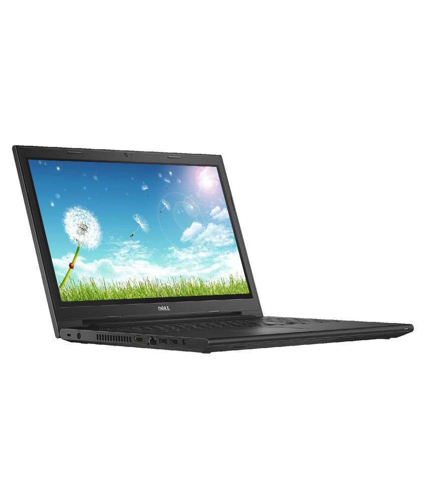 Dell Inspiron 15 3541 Laptop (AMD E1 6010 APU- 4GB RAM- 500GB HDD- 39 62cm  (15 6) Screen- Win 8 1 SL with Bing-AMD ) (Black)