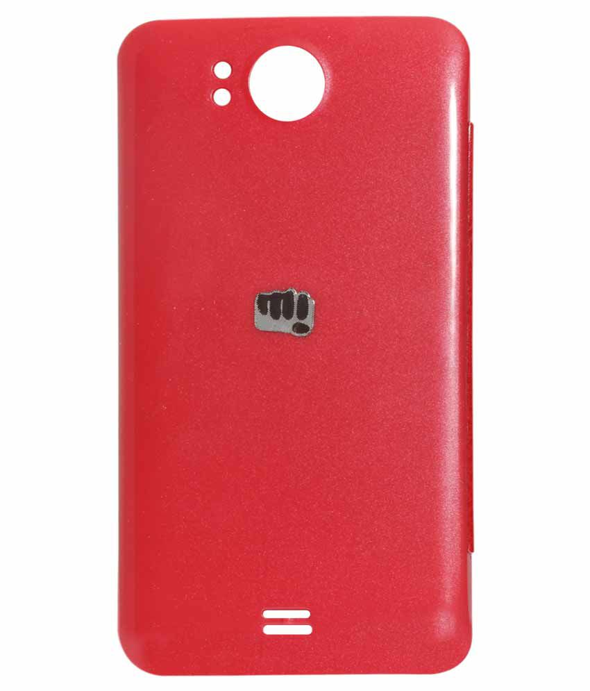 buy online c247f efa76 Dmg Protective Flip Cover Back Replace Leather Case For Micromax ...