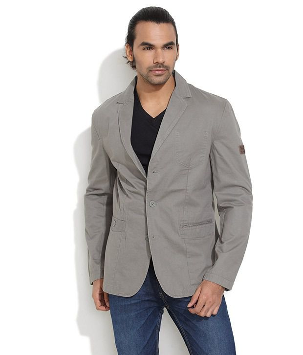 2dfb8905e51 Gray Semi-Formal Blazer - Buy Gray Semi-Formal Blazer Online at Best Prices  in India on Snapdeal