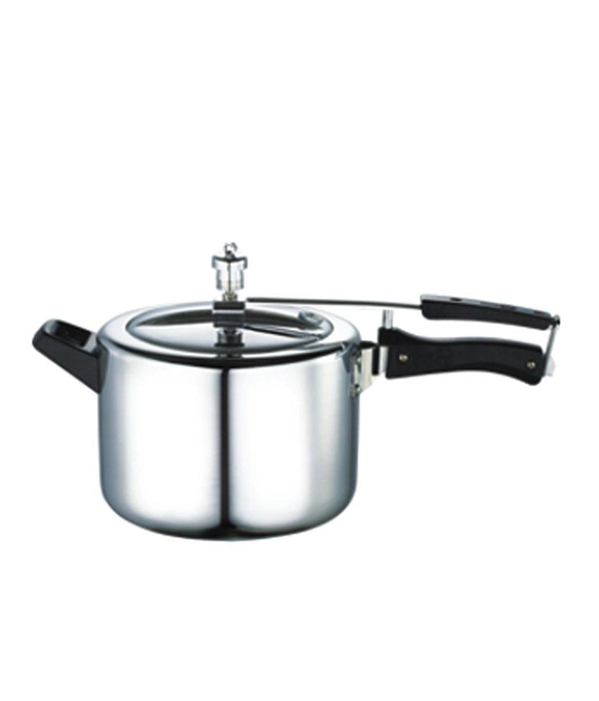 Jaypee Aluminium 5 L Pressure Cooker (Inner Lid)