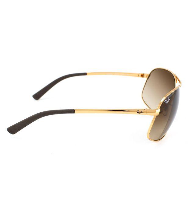 16ea8d4248 Ray-Ban Brown Aviator Sunglasses (RB3387 001 13 64-14) - Buy Ray-Ban ...