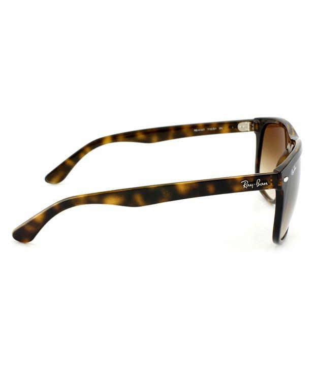 d9d0546f074e1 Ray-Ban Brown Wayfarer Sunglasses (RB4147 710 51 60-15) - Buy Ray ...