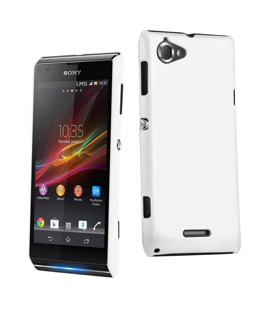 Xperia L White Wow Back Cover Cases F...