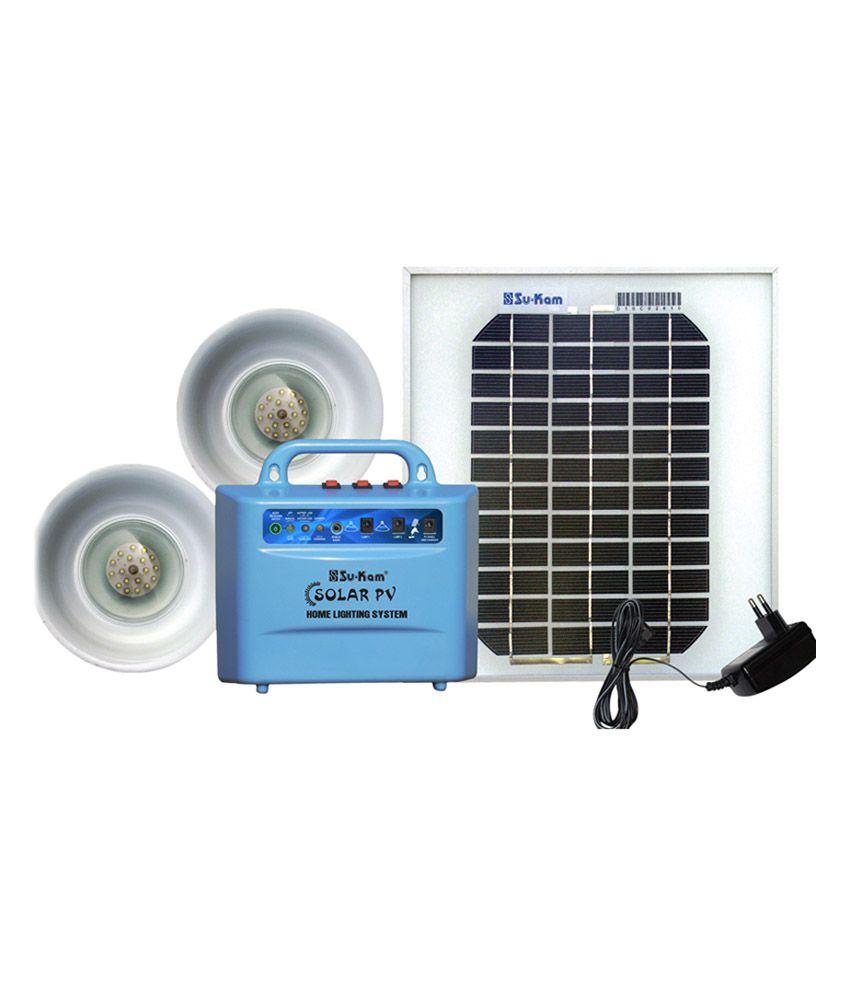 Su-kam Home Lighting System Solar Emergency Light