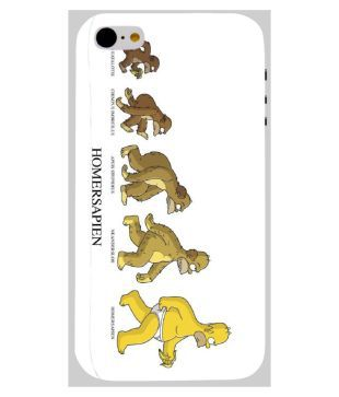 huge discount 3f011 5935e Rebel Printed Cases Design Funny Homer Simpson For Apple Iphone-5-c ...