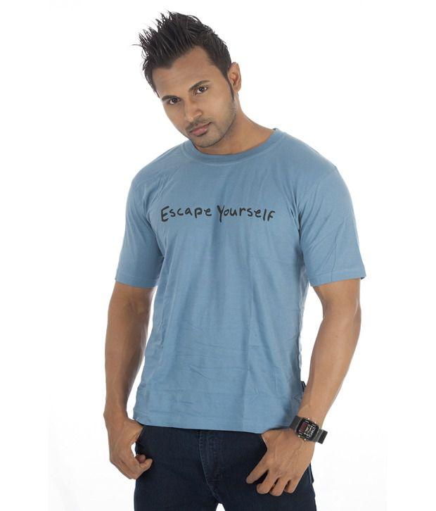 TSG Escape Blue Cotton  T-Shirt