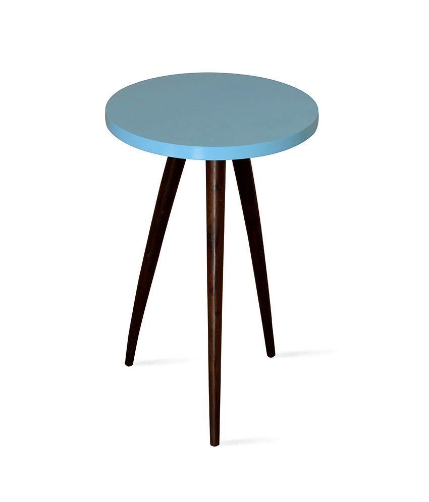 Zidane Side Table Blue