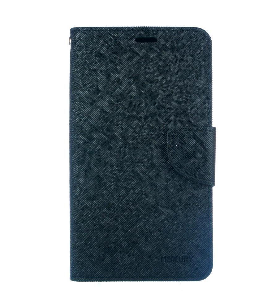 Dressmyphone Flip Covers For Sony Xperia Z2 - Black