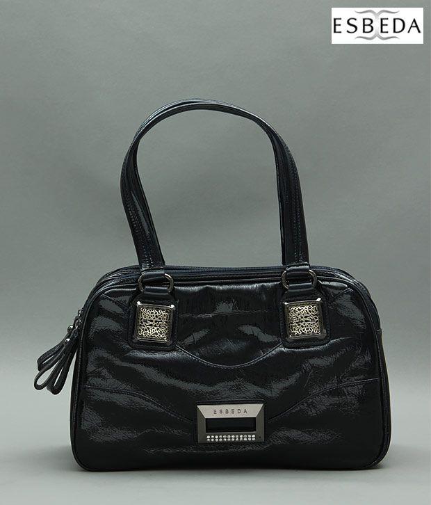Esbeda Classic Blue Handbag