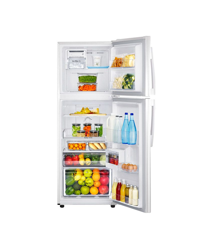 de27017a0d3 ... Samsung 253 Ltr 3 Star RT27HAJSAWX Double Door Refrigerator - Orcherry Coral  White ...