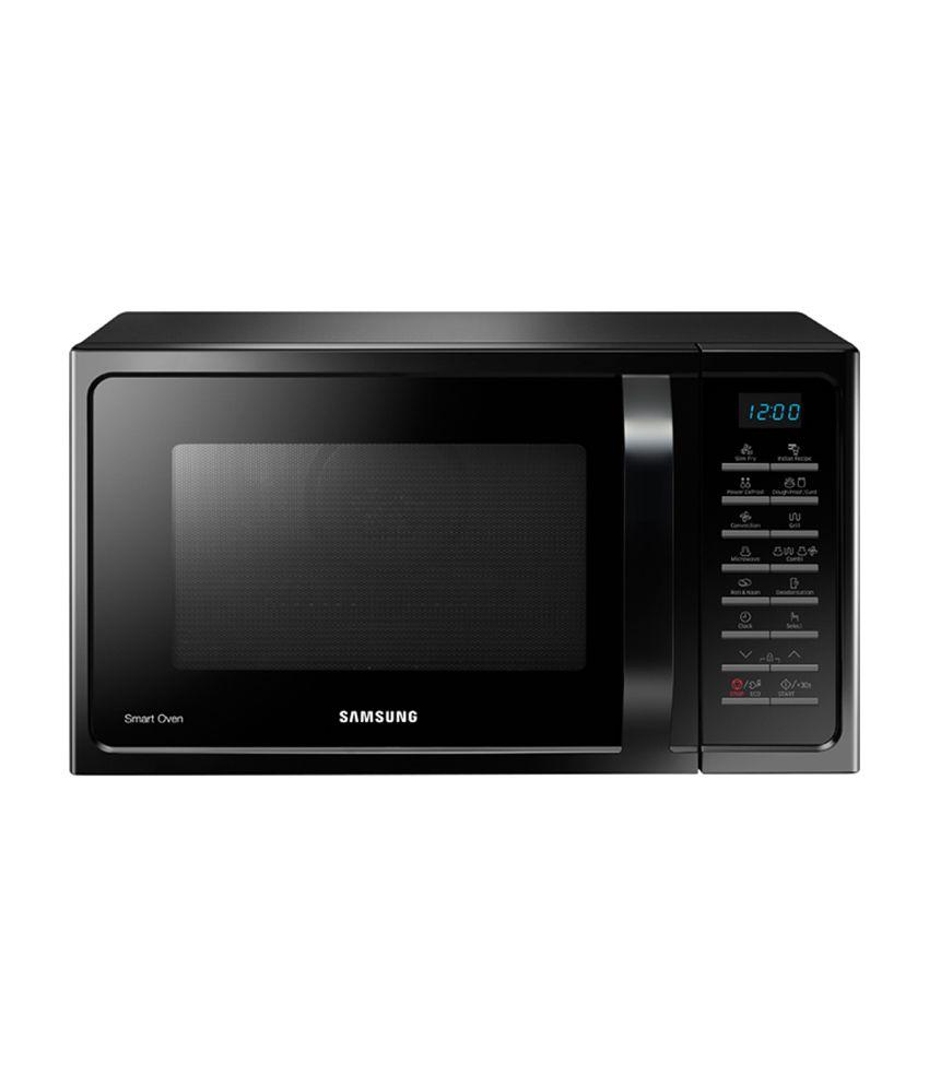 Samsung 28 Ltr Convection Mc28h5015vk Microwave Oven Black