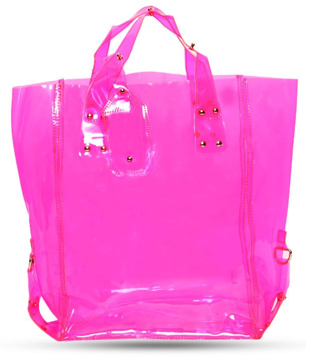 1 Bolzo Lovely Pink Tote Bag