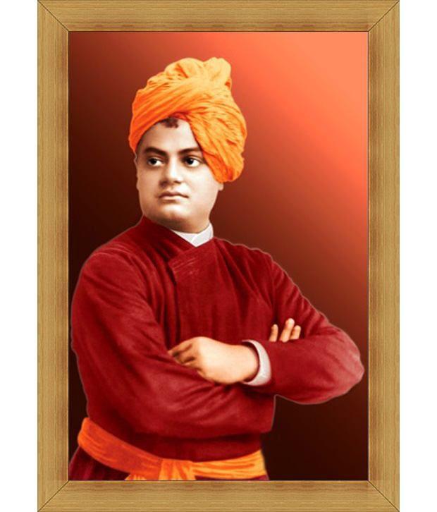 Jstarmart Photo Frame Swami Vivekananda C212 12x18 Jsmph0046