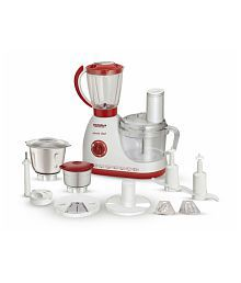 Maharaja Whiteline SmartChef Food Processor - Red