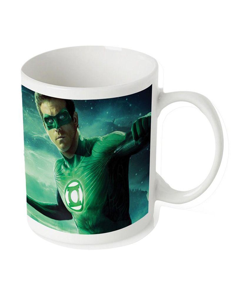 Amore Green Lantern Mug