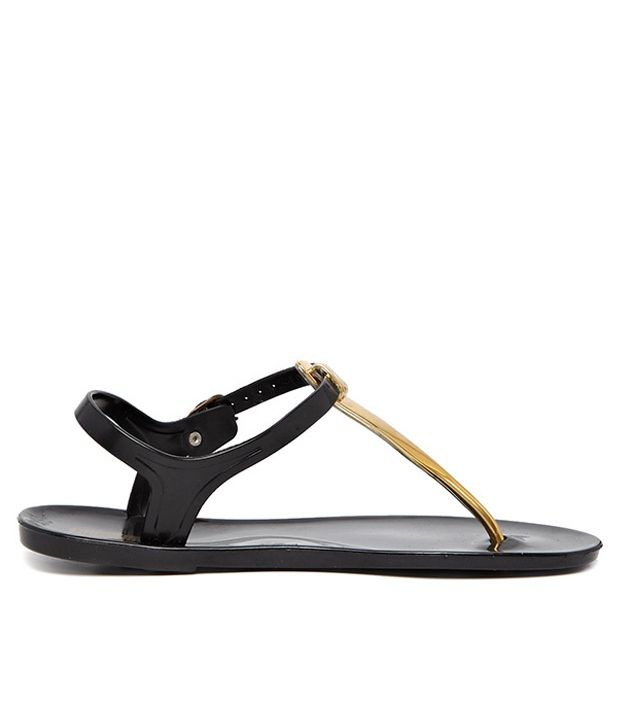 Go Bahamas Black Sandal