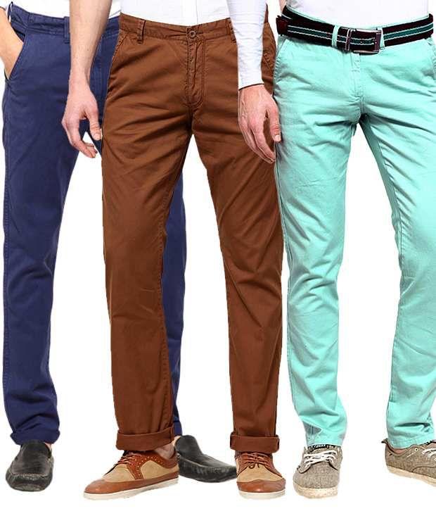 Haute Couture Multi Regular Casuals Pack of 3