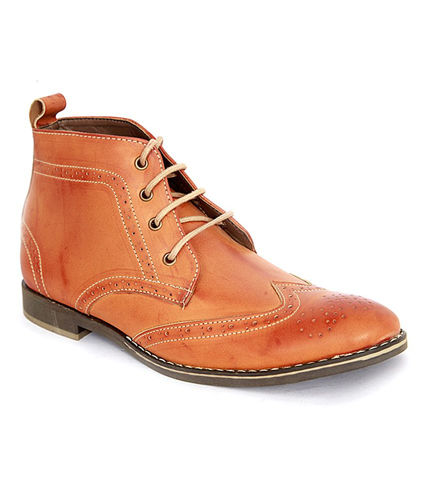 Ishoes Tan Boots