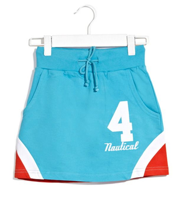 Scullers Kids Aqua Tennis To Track Sporty Skirt For Girls
