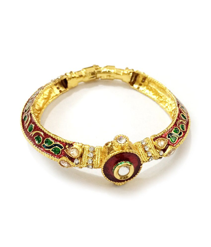 Craftstages Gold Plated Copper Jarkan Traditional Bracelet