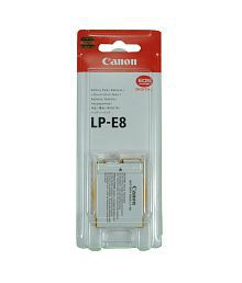 Canon LP-E8 Battery for EOS 550D, EOS 600D, EOS 650D, EOS 700