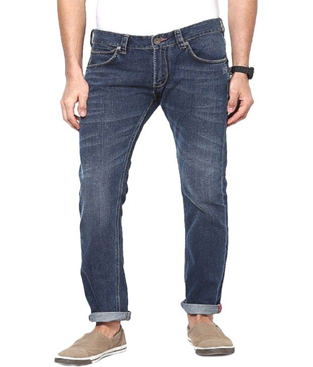 French Connection Blue Slim Fit Jeans