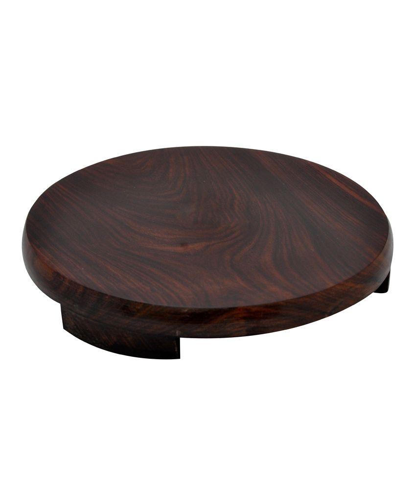 Hazel Wooden Polpat - Seasam Chakla - Large S10