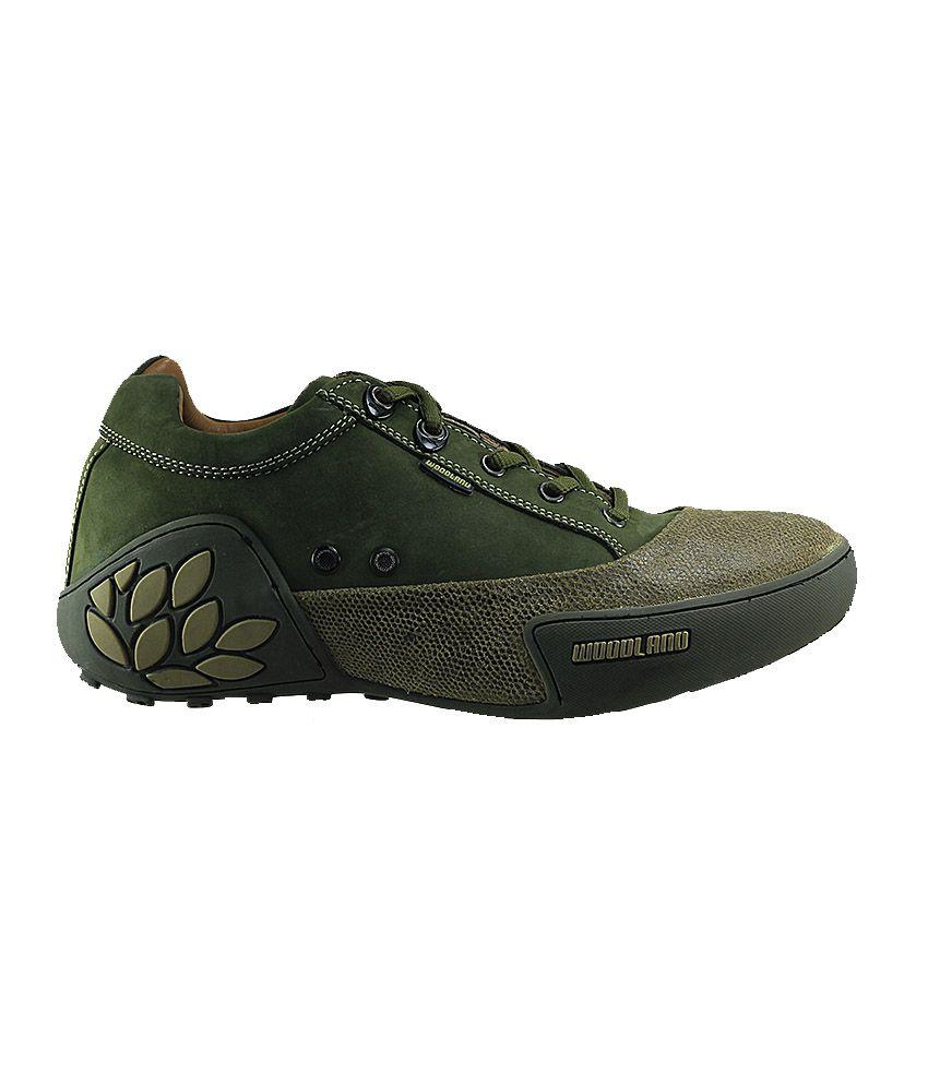 Woodland Wdgc0549108-Green Men Outdoor Casual Shoes Art ...