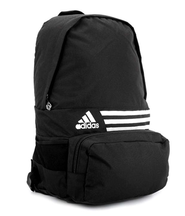 Adidas Black Backpack - Buy Adidas Black Backpack Online at Best Prices in  India on Snapdeal 6e3f818ea343d