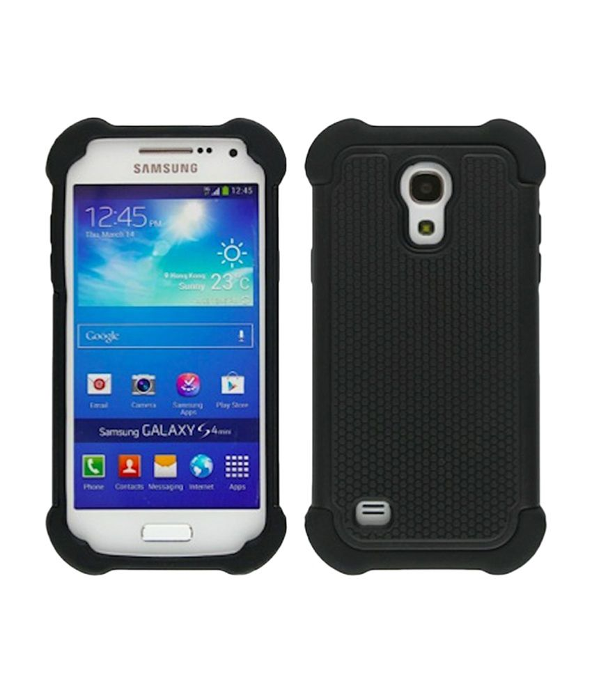 info for 06600 87c51 Bracevor Back Cover Cases For Samsung Galaxy S4 Mini - Black